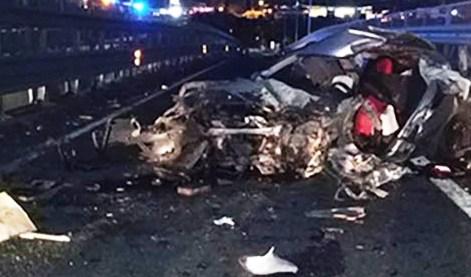 Incidente mortale lungo Asse dei servizi: 1 morto. Viaggiavano in 8 su una macchina. Il bollettino del Cannizzaro sui feriti