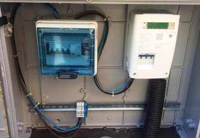 Quadro elettrico nuovo in piazza Tricolore a Fasano