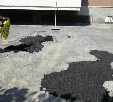 San Giovanni Galermo: eliminate buche in via Badia