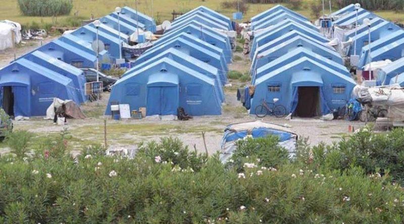 Tende per migranti
