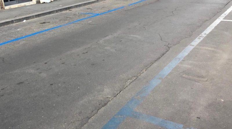 Strisce blu a Catania